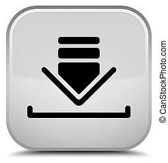 Download icon special white square button