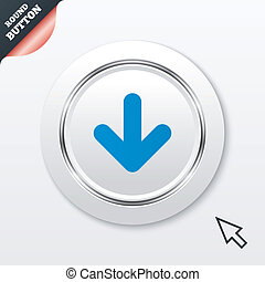 download, icon., upload, button.