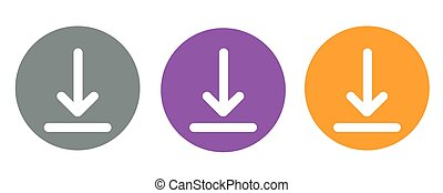 download icon,vector illustration