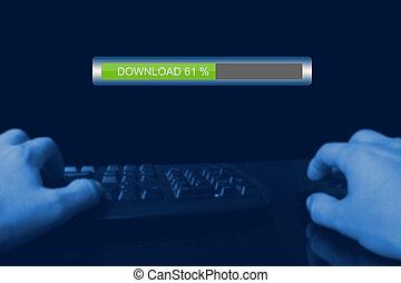 download, ilegal, internet