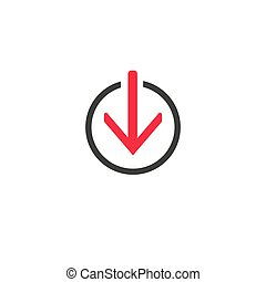 Download Line vector icon. symbol. Modern, simple flat vector illustration for web site or mobile app