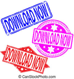 Download Now Stamp