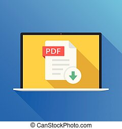 Download document file pdf zip sheet button computer laptop