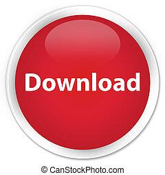 Download premium red round button