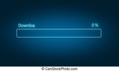 Download progress bar with counter - Download progress bar...