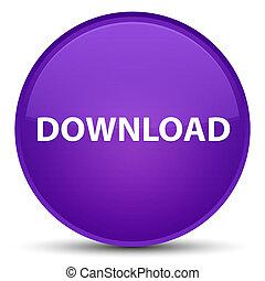 Download special purple round button