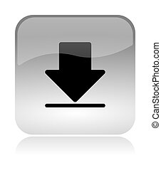 Download web interface icon