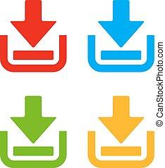 Download web pictograms set