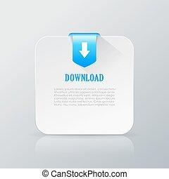 downloaded, fichier, information, carte