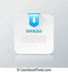 Downloaded file additional information card