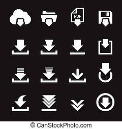 downloaden, pictogram