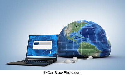 downloading, świat