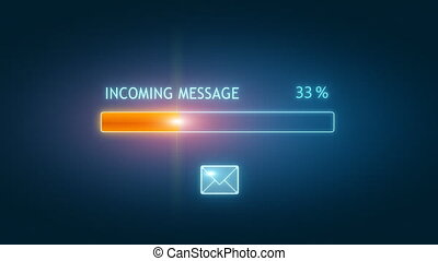 Downloading email box  - Downloading email box