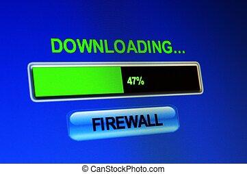 Downloading firewall