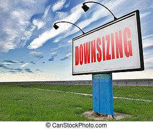 downsizing - Downsizing firing workers jobs cuts job loss...