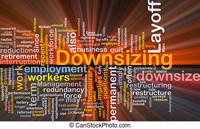 downsizing word cloud box package
