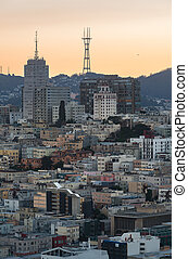 Downtoen of San Francisco