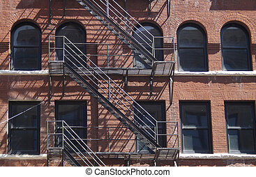 Downtown American Building - Historic downtown brick...