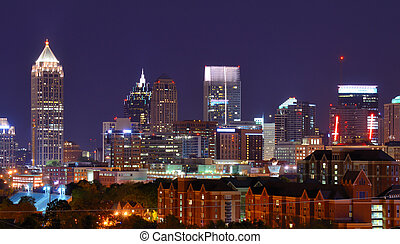 downtown, atlanta