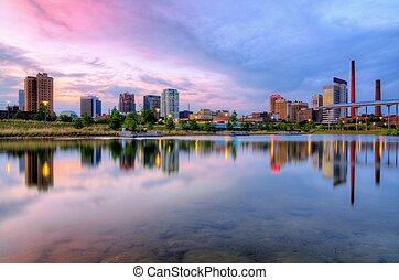 Downtown Birmingham, Alabama, USA.