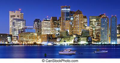 Downtown Boston Panorama