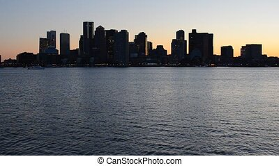 Skyline of downtown Boston, Massachusetts