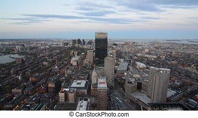 Downtown Boston - Skyline of donwtown Boston, Massachusetts.