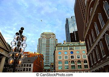 downtown, boston