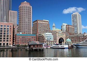 Downtown Boston USA