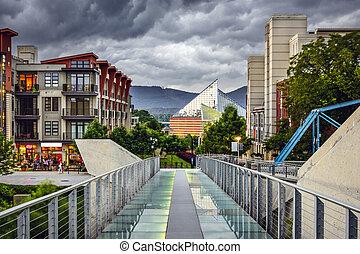 Downtown Chattanooga - Chattanooga, Tennessee, USA downtown...