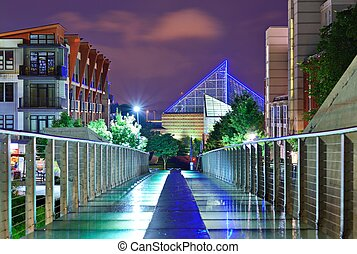Downtown Chattanooga - Urban scene in downtown Chattanooga, ...