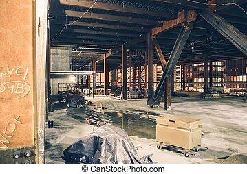 Downtown Construction Site