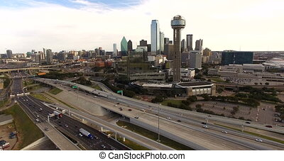 Downtown Dallas Texas City Skyline South United States North America