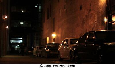 downtown dark alley man 2