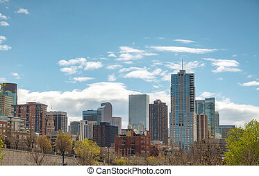 Downtown Denver cityscape