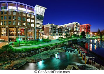 Downtown Greenville, South Carolina - Greenville, South...