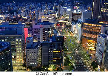 Downtown Kobe, Japan