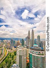 Downtown Kuala Lumpur skyline