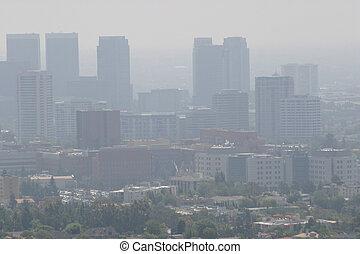 Downtown LA Air Pollution