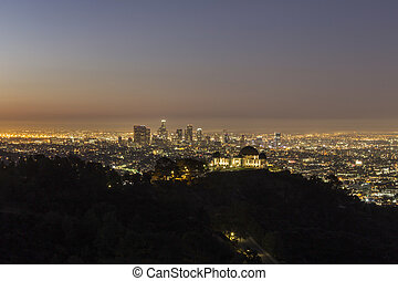 Downtown Los Angeles Dusk