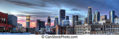Downtown Los Angeles Panorama