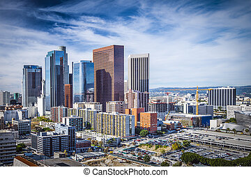 Downtown Los Angeles - Los Angeles, California, USA downtown...
