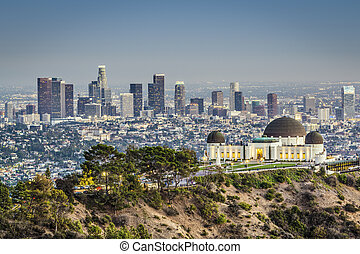 Downtown Los Angeles - Los Angeles, California, USA at...