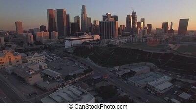 Downtown,  Los, Udsigter,  Angeles,  Side
