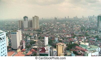downtown manila, philippines