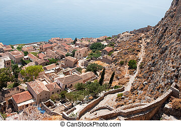 Downtown Monemvasia