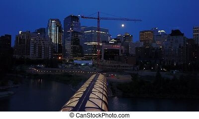 Downtown of Calgary, Alberta, Canada - Downtown of Calgary...