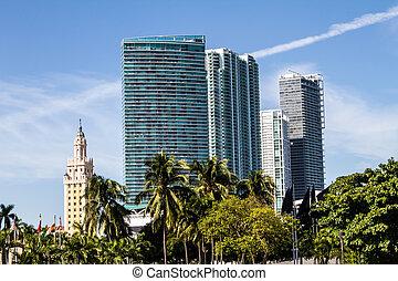Downtown of Miami