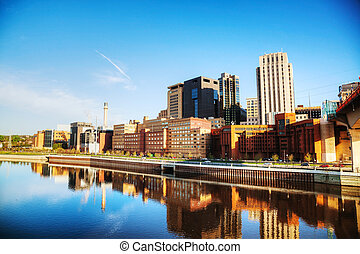 Downtown of St. Paul, MN
