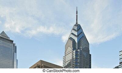 Downtown Philadelphia - Skyline of downtown Philadelphia,...